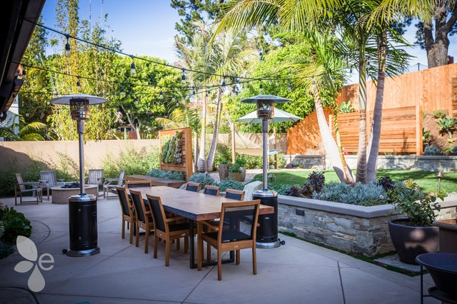 del mar 5 backyard landscape design dine outdoors patio san diego by eco minded solutions. Black Bedroom Furniture Sets. Home Design Ideas