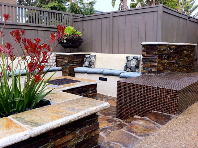 Del Mar Contemporary contemporary-patio