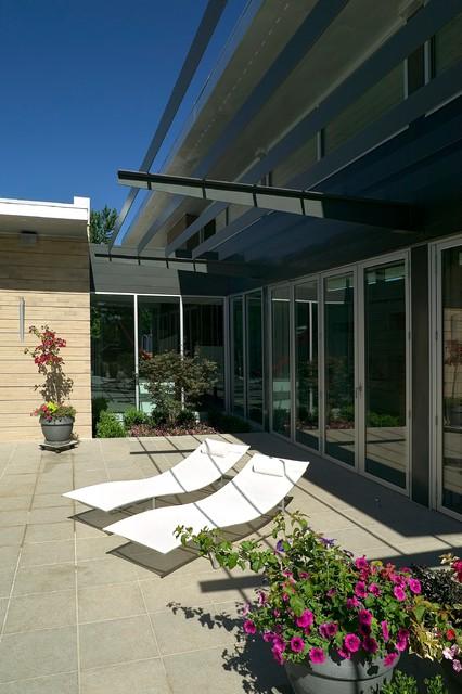 Denver Mid Century Modern Home Rudofsky Residence