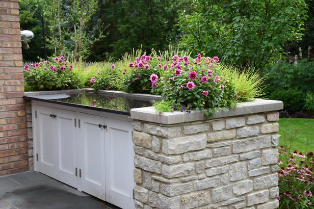Design/ Build- A Gardener's Garden traditional-patio
