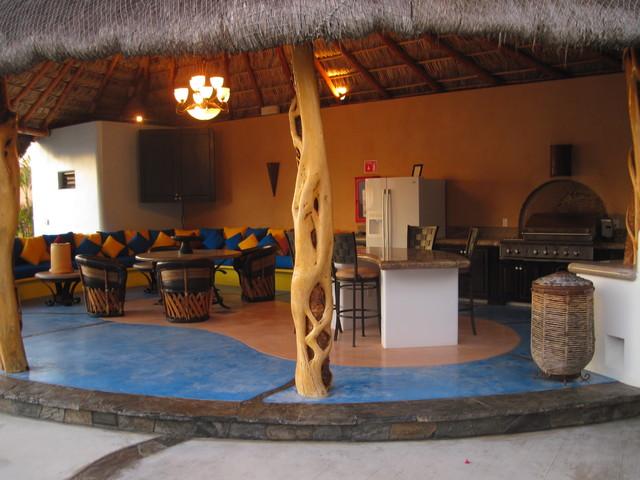 Design/Build by Salina del Mar tropical-patio