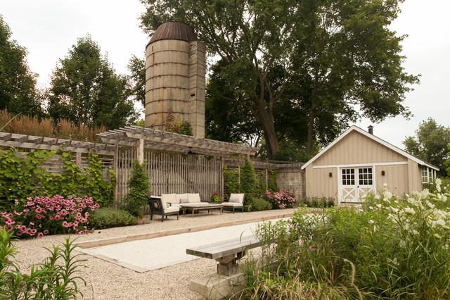 Tour a Romantic Farmhouse Garden and Bocce Court in Illinois