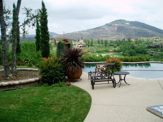 Design Build: Tuscan Residence at The Bridges of RSF mediterranean-patio