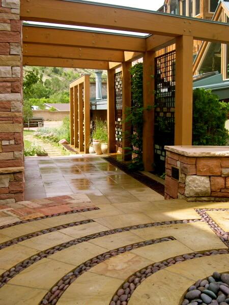 Design with Boulders contemporary-patio