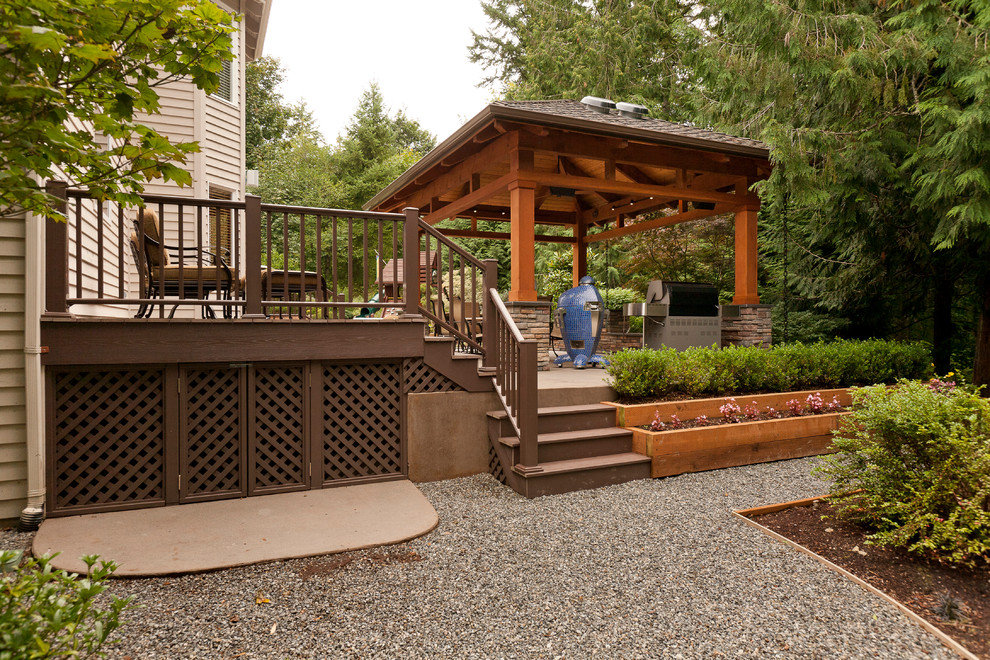 Detached Covered Patio Deck