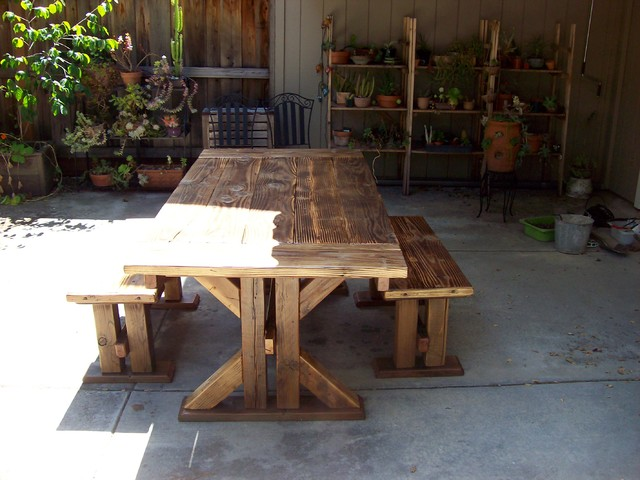 Dining tables contemporary patio san francisco by