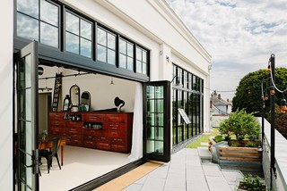 Division Street - Industrial - Patio - portland - by Emerick Architects