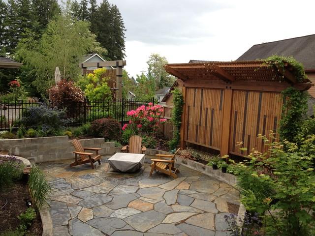 Diy Landscape Design In A Day Craftsman Patio Portland By Landscape Design In A Day Houzz Au