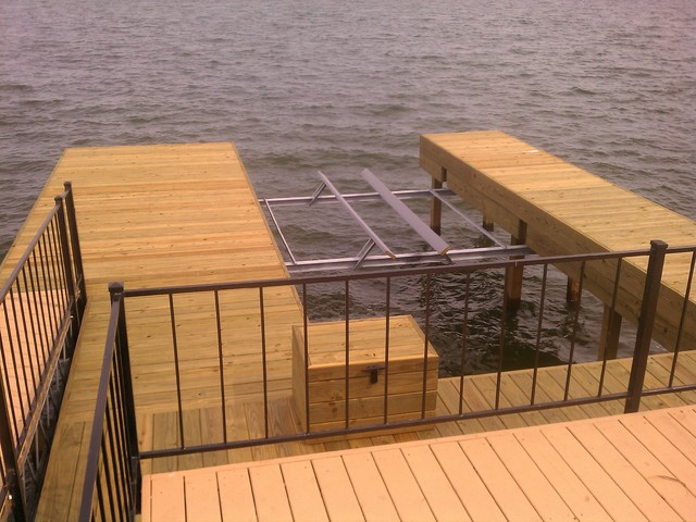 Boat Dock Design Ideas good outdoor living space ideas 4 boat dock design ideas Inspiration For A Timeless Patio Remodel In Houston