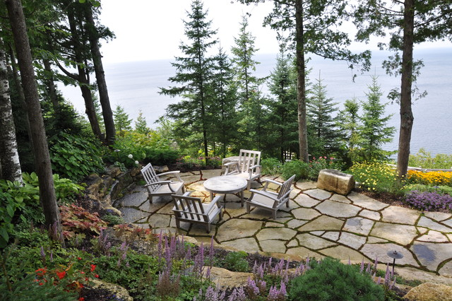 Door County Getaway beach-style-patio