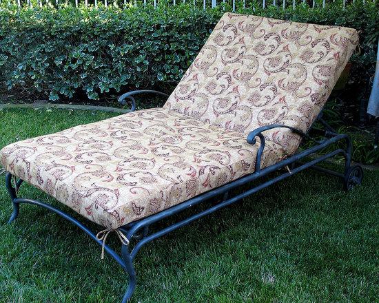 Chaise Lounge Cushions -