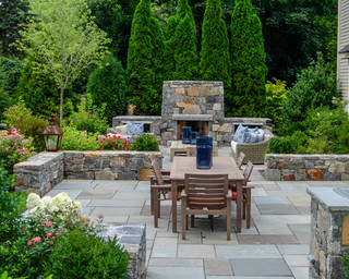 Dover Home Traditional Patio Boston By A Blade Of