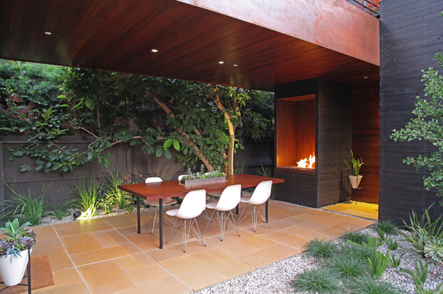 dwell home venice - contemporary - patio - los angeles - by kiesel ... - Patio Landscape Architecture