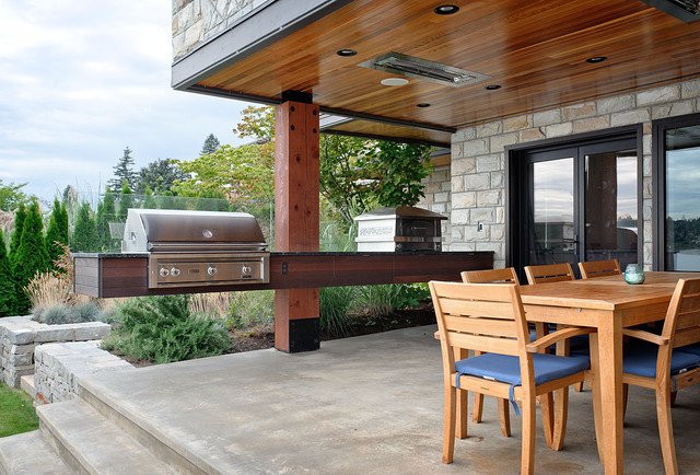 Dyna   Mercer Island III Contemporary Patio