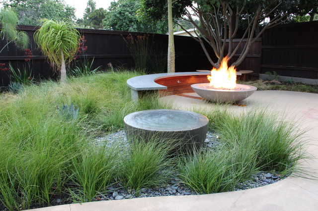 Earth, Water & Fire - contemporary - landscape - san luis obispo ...