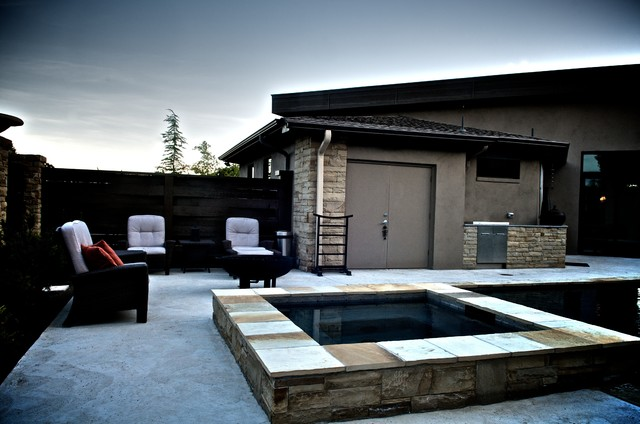 East edmond zen pool asian patio other metro by for Zen pool design