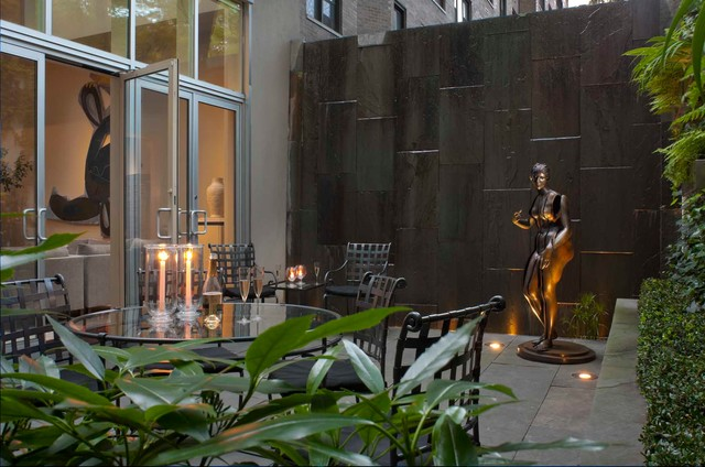 East Side Collector's Townhouse - Contemporary - Patio - new york - by David Scott Parker ...