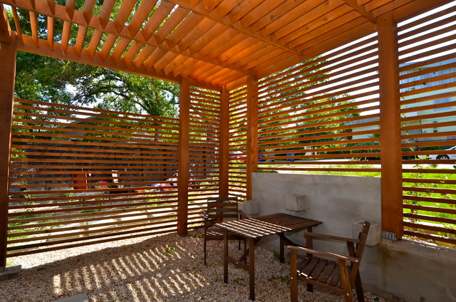 East Side Green Treehouse Unit 2 Contemporary Patio