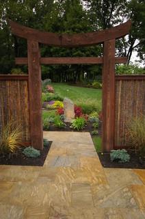 Eastern Influence Asian Patio Philadelphia By Environmental Landscape Ociates