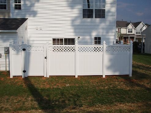Easy Install White Vinyl Fence From Seven Trust Modern