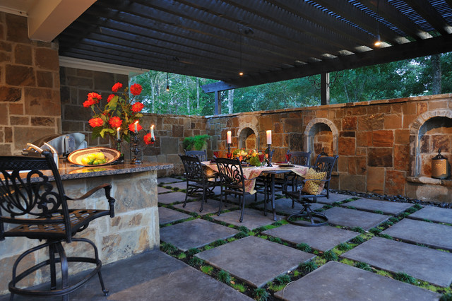 Easy Living Retreat   Addition   Pool House Traditional Patio