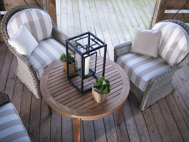 Eclectic Style with Outdoor Furniture modern-patio