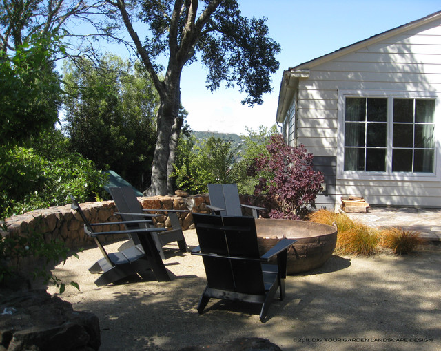 Eco Friendly Garden Kentfield Ca Traditional Patio