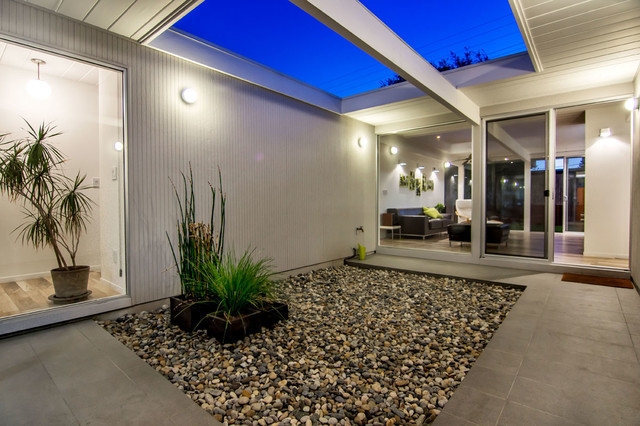 Eichler Atrium Modern Patio San Francisco By Bill