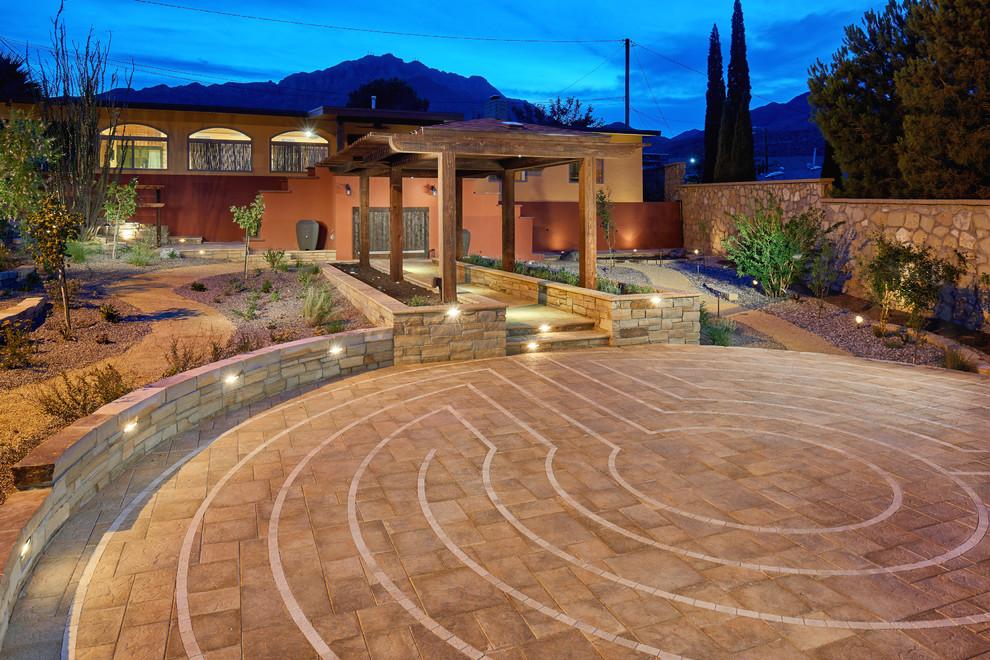 El Paso Meditation Garden - Traditional - Patio - Other ... on Meditation Patio Ideas id=60930