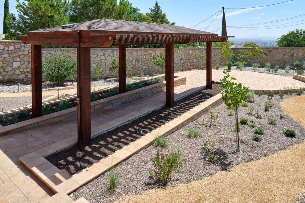 El Paso Meditation Garden - Traditional - Patio - Other ... on Meditation Patio Ideas id=37927