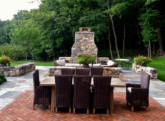 Elegant Entertaining contemporary-patio