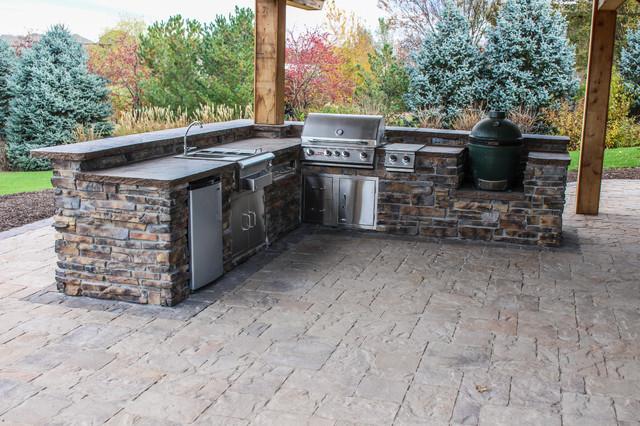 Gretna outdoor kitchen patio patio omaha von for Outdoor kitchen omaha