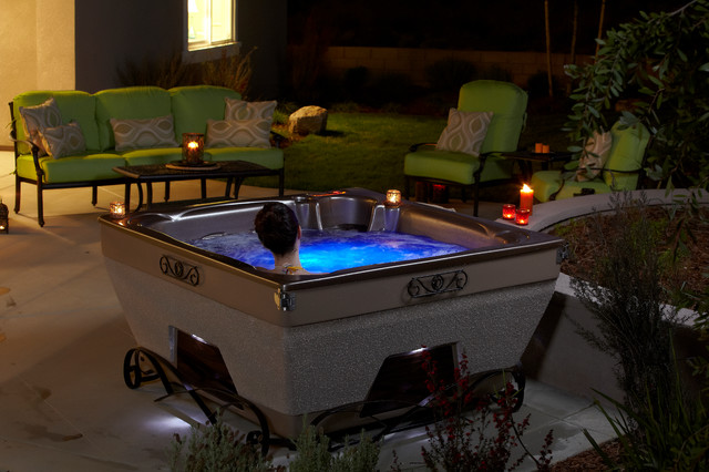 Elemental - Traditional - Patio - San Diego - by Dimension One Spas