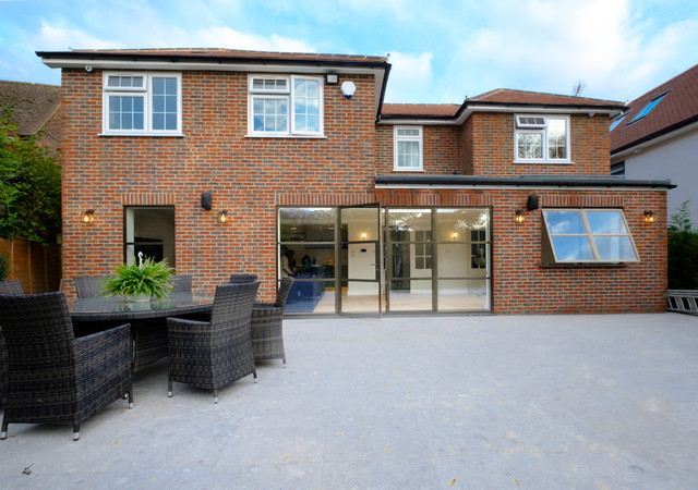 Elgood Avenue Contemporary Patio Buckinghamshire By Iq Glass Uk