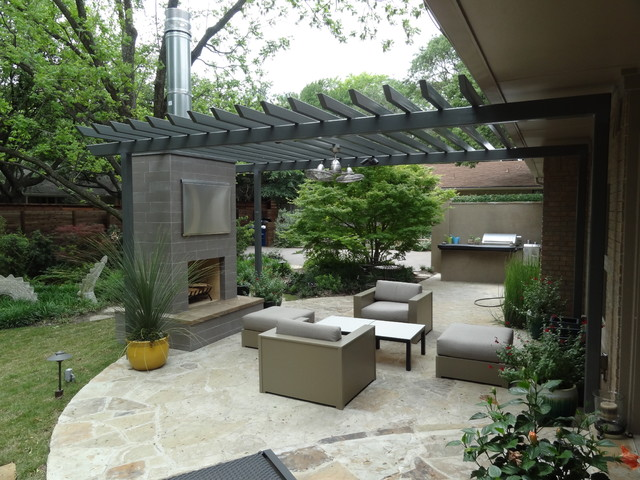 Ellen Grass & Sons - contemporary - patio - dallas - by Ellen ...