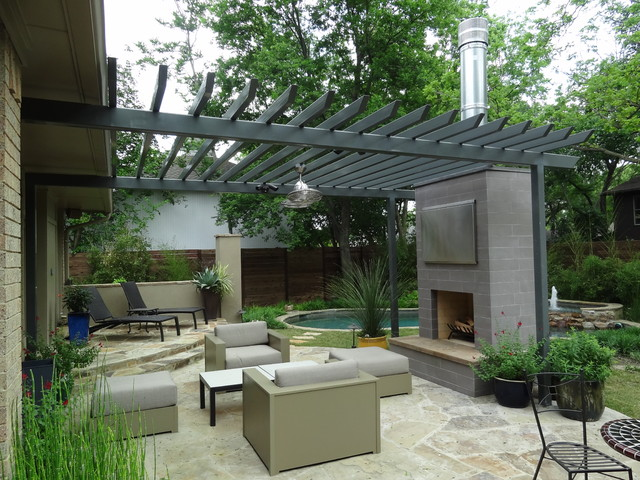 Ellen Grass & Sons contemporary-patio