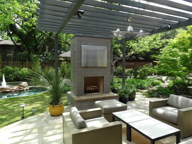 Ellen Grass & Sons modern-patio