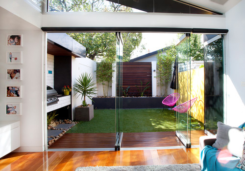 Indoor and Outdoor Space Integration