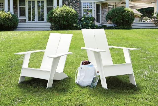 Bon Emmet Tall Lounge Chair Modern Patio