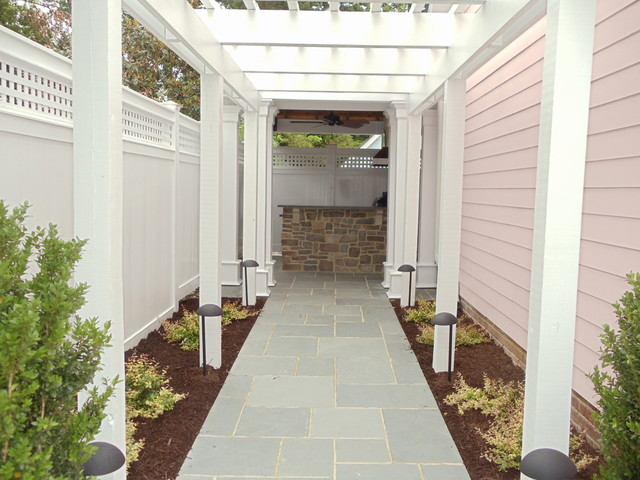 Enclosed Outdoor Room Traditional Patio Richmond