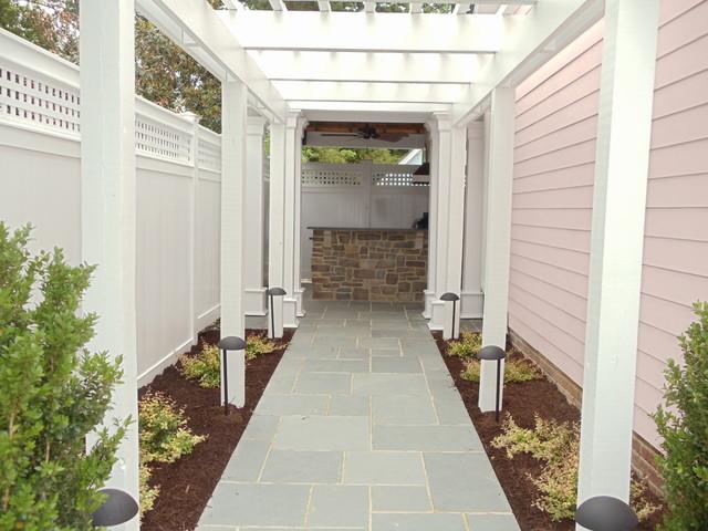Enclosed Outdoor Room Traditional Patio Richmond