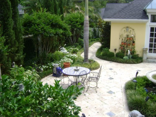 English garden victorian patio tampa by keep it for British landscape architects