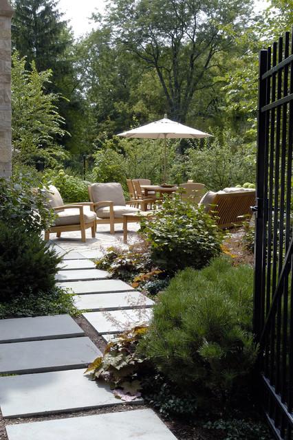 Entering The Garden Contemporary Patio Chicago By