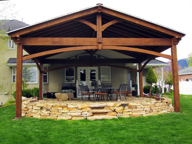 Entertainment Size Pavilion Gazebo Cover For Hot Tub Craftsman Patio