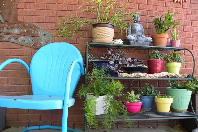 Erin Waldman eclectic-patio