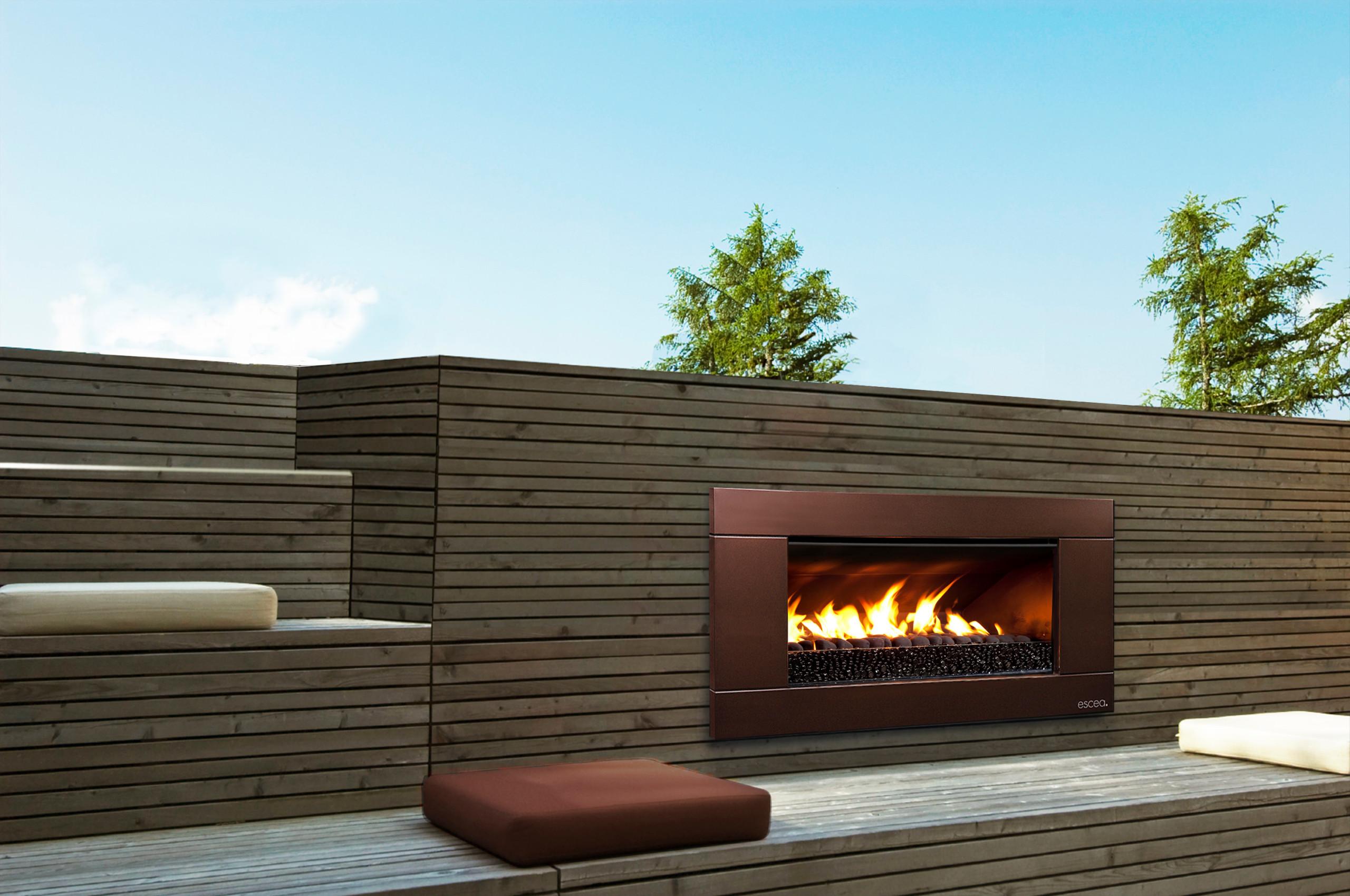 Outdoor Gas Fireplace Houzz
