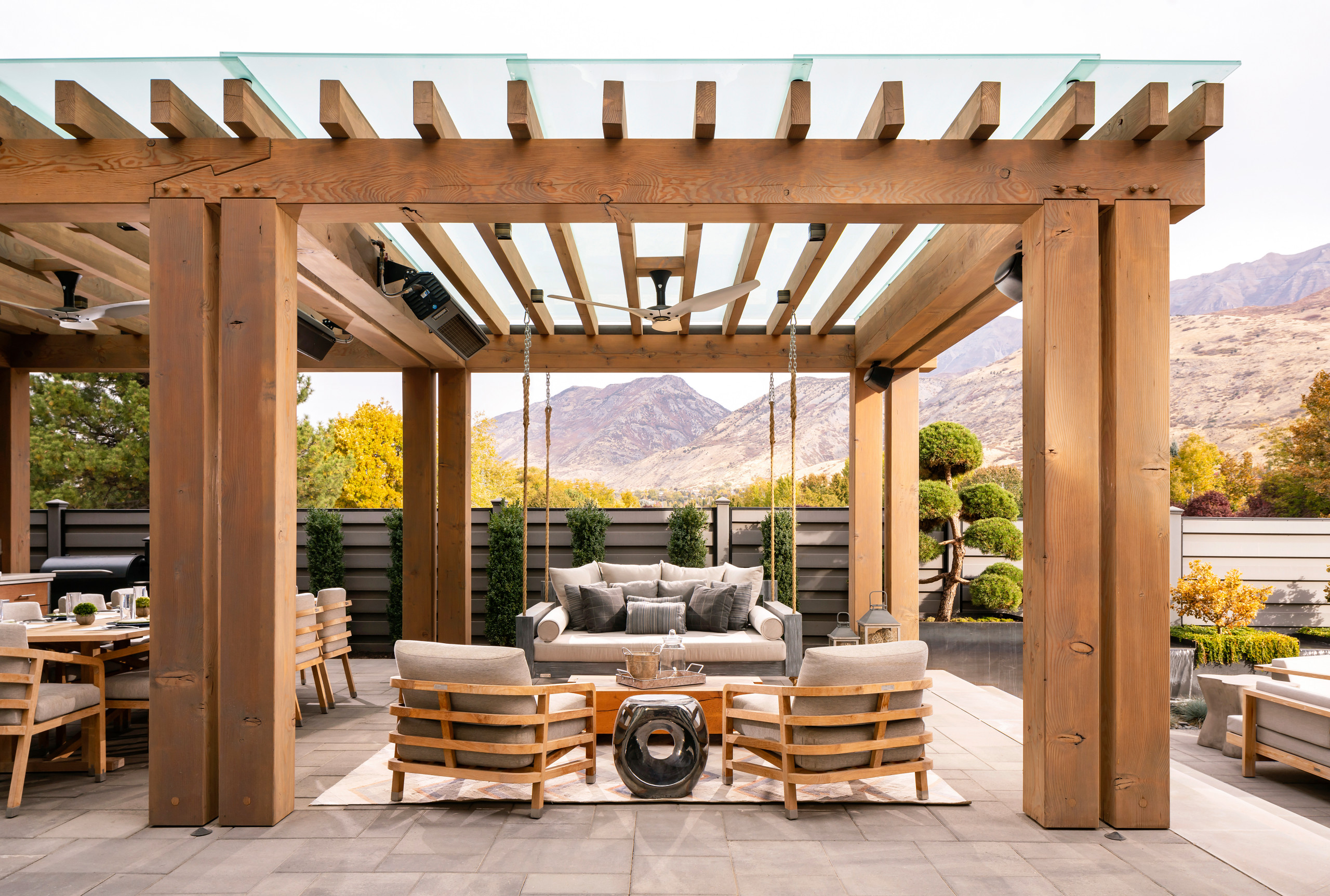 75 Beautiful Concrete Paver Patio Pictures Ideas November 2020 Houzz