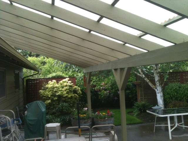 Examples of SkyLift Projects traditional-patio
