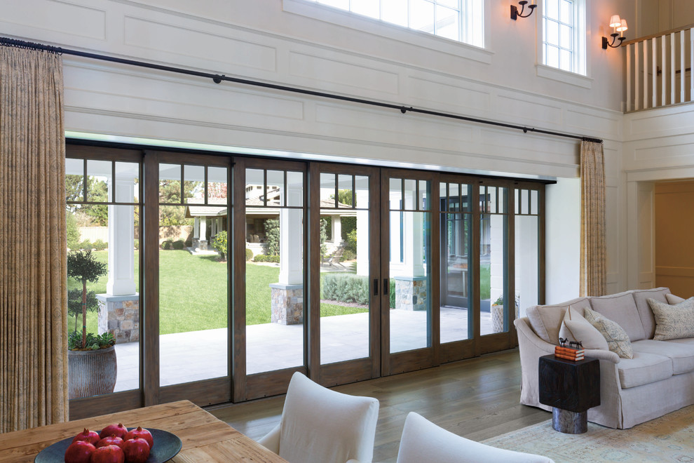 Expand Your View With Pella Architect Series Multi Slide Patio Doors Traditional Patio Other By Pella Windows And Doors
