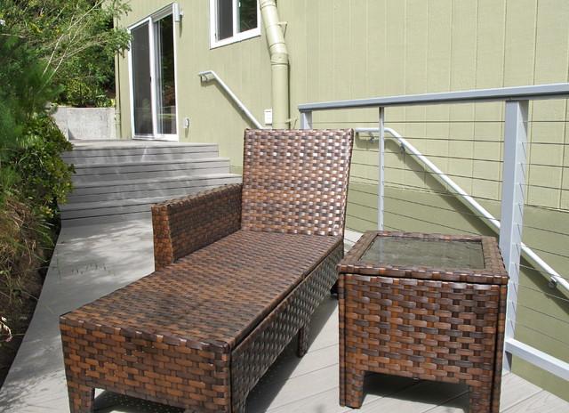 Exterior Deck modern-patio